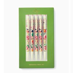 🆕Kate spade floral mechanical pencil set